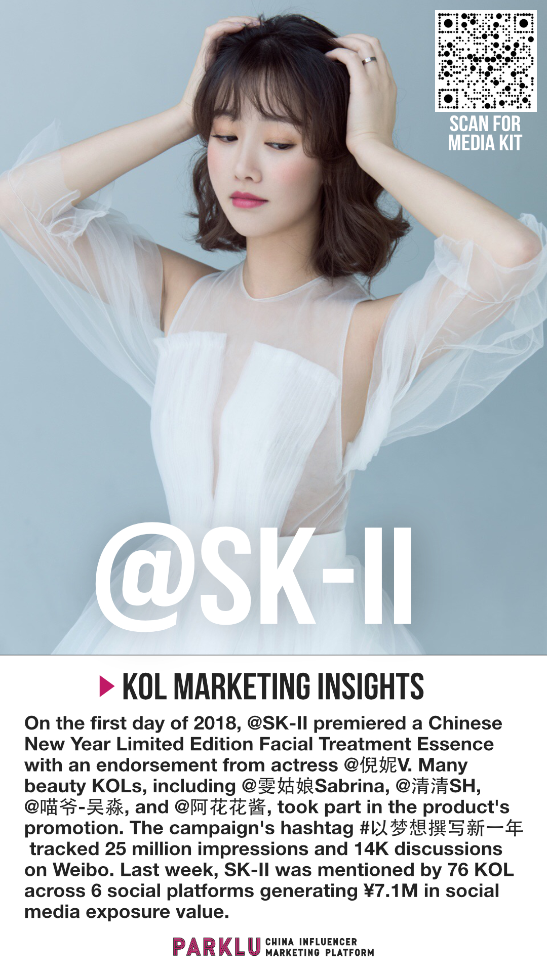 SK-II Promotes CNY Facial Treatment Essence with KOLs