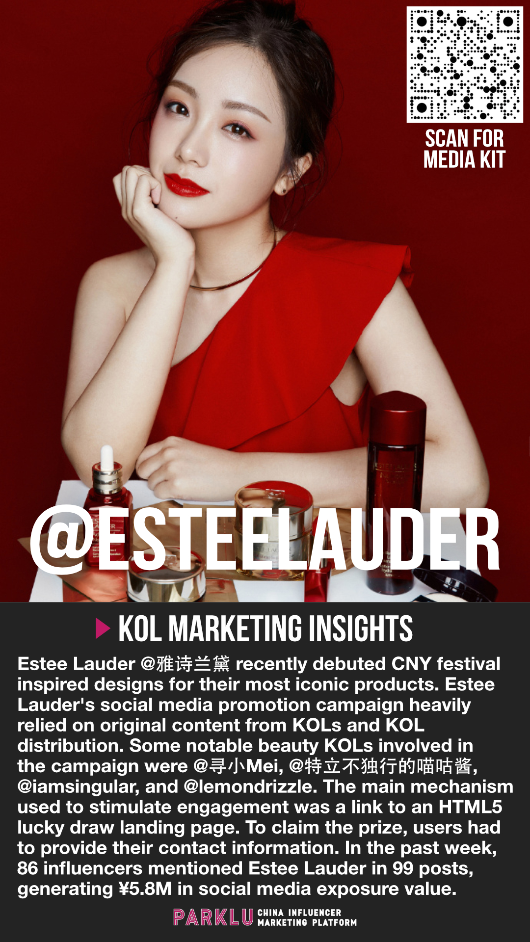 Estee Lauder CNY Inspired Designs & H5 Lucky Draw