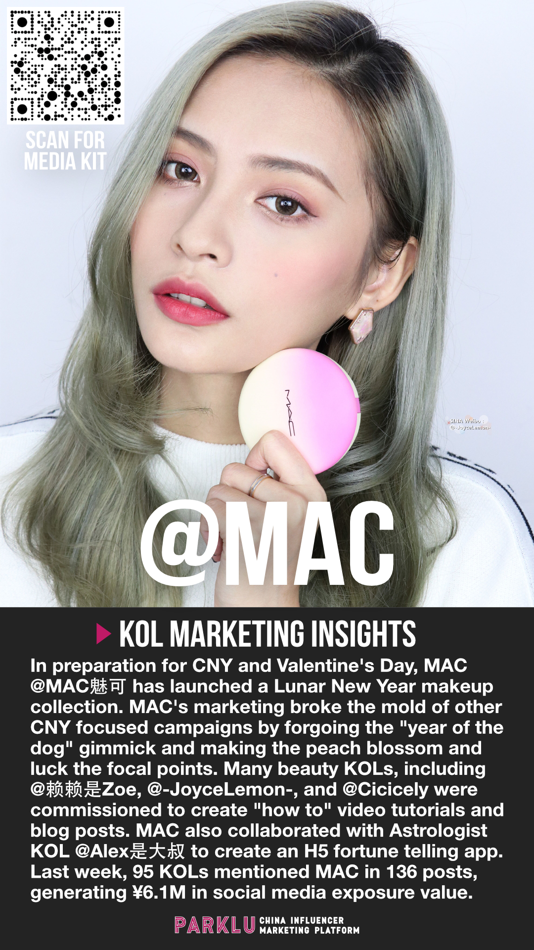 MAC Collaborates with an Astrology Influencer for CNY
