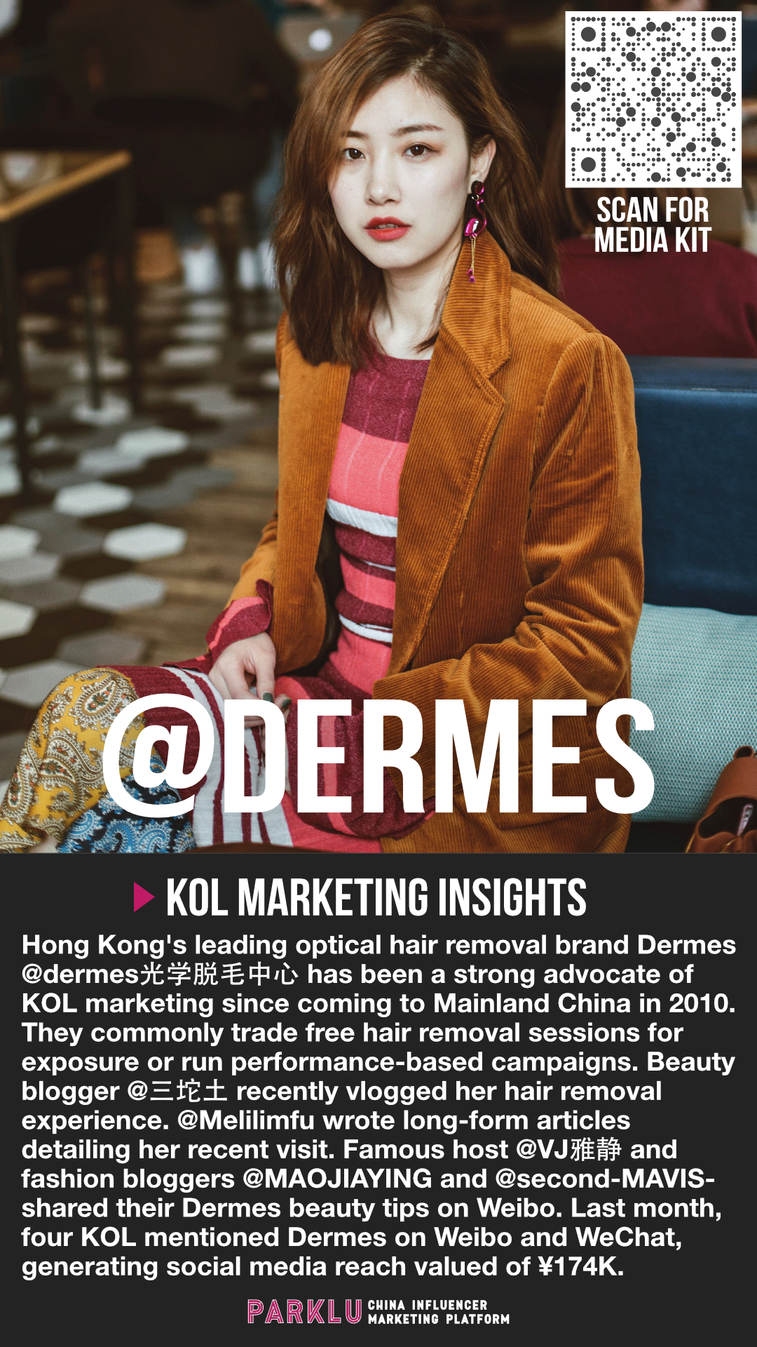 Dermes Optical Hair Removal is an Advocate of KOL Marketing