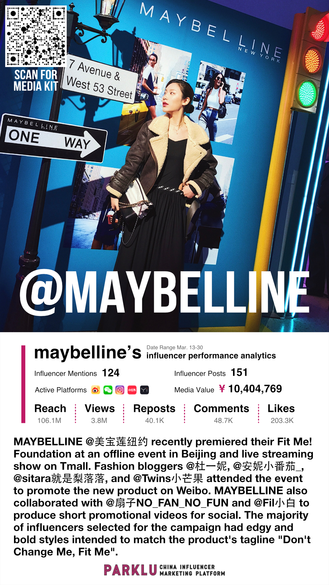 Maybelline Premiers Fit Me! Foundation with Fashion Bloggers
