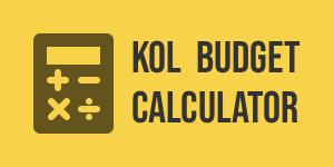 KOL Budget Calculator