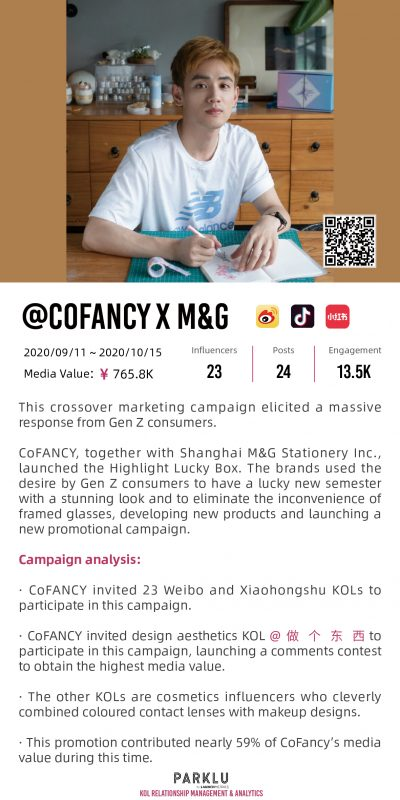 CoFANCY x Shanghai M&G Stationery Highlight Lucky Box