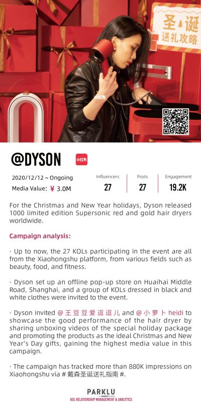 Dyson Holiday Edition Supersonic Christmas and New Year